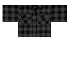 Plaid Shirt Black Roblox shirt