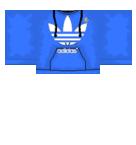 Blue Adidas Hoodie Roblox shirt