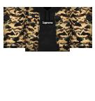 Supreme Camo hoodie Roblox shirt