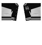 Varsity Jacket in Black Roblox shirt