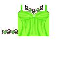 Girl's top Green Roblox shirt