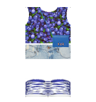 Blueberry top and Jeans Roblox pants