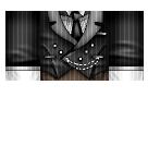 Suit formal pin stripe Roblox shirt