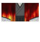 Fire Kimono Roblox shirt