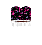 Flower top with white skirt Roblox pants