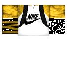Gold Nike Hoodie Roblox shirt