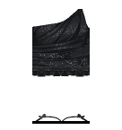 Black dress Roblox pants