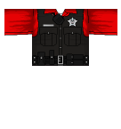 Police Red Roblox shirt