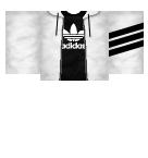 Adidas jacket Roblox shirt