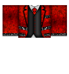 Red Suit Formal Roblox shirt