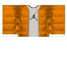 Orange Jacket Roblox shirt