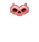 Pink Skull Top Roblox shirt