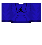 Blue Jordan Hoodie Roblox shirt