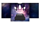 Galaxy Adidas hoodie Roblox shirt