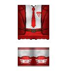 Red School Uniform Roblox pants