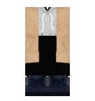 Gray top and black pants Roblox pants