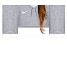 Nike Gray top Roblox shirt