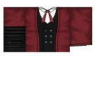 Formal In Burgundy Roblox shirt