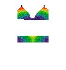 Rainbow Top Bathing Suit Roblox pants