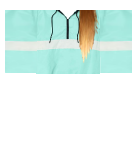 Teal Pullover with Brown Hair Roblox shirt