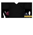 Polo with Tattoo Sleeve Roblox shirt
