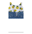 Jean Shorts and Pineapple top Roblox pants