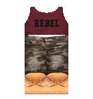 Rebel Tank with Camo pants Roblox pants