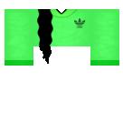 Lime Green Adidas shirt Roblox shirt