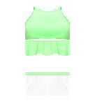 Lime top and Skirt Roblox pants