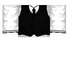 Black Vest Roblox shirt