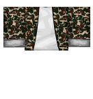 Brown Camo Jacket Roblox shirt
