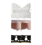 White top skirt Roblox pants