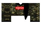 Supreme Black Hair Roblox shirt